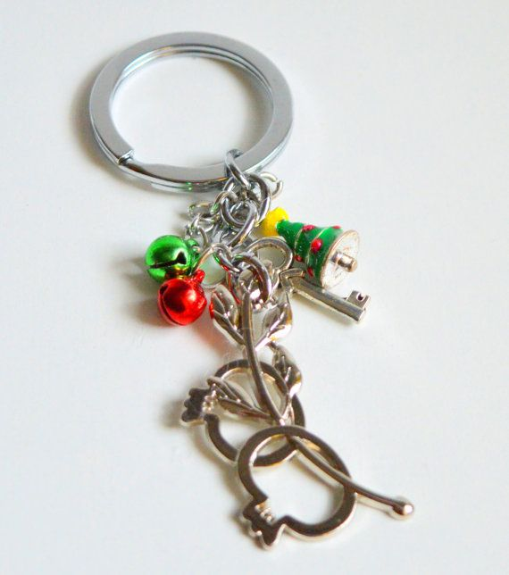 An impressive 2015 Good Luck #Key Chain to put your  home or #car #keys . Another idea is to decorate your home and bring good luck to your #house and your family. Use this b... #keychain #brelock #holder #holidays #christmas #ornament #decoration #small