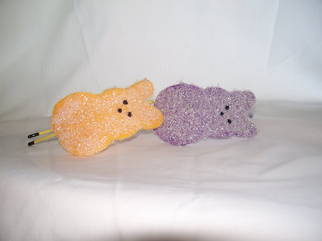 DIY Make this adorable Peep Headband: Christmas Crafts, Easter Craftscard, Sparkly Peeps, South35Th Peeps, Easter Diy, Peeps Headbands, Adorable Peeps, Headbands Diy, Happy Easter