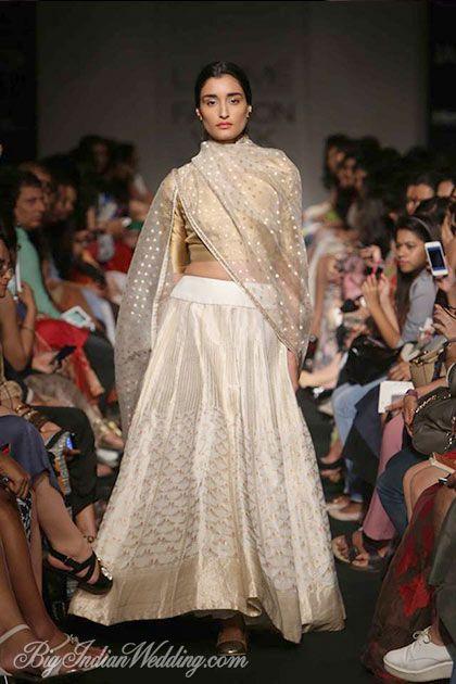 Sanjay Garg designer lehenga collection