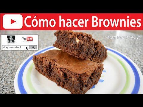 CÓMO HACER BROWNIES   Vicky Receta Facil - YouTube