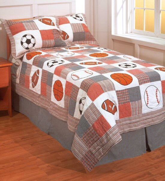 160 best Sports Quilts ⚾⚽ images on Pinterest | Art crafts, Baby ... : sports quilt bedding - Adamdwight.com