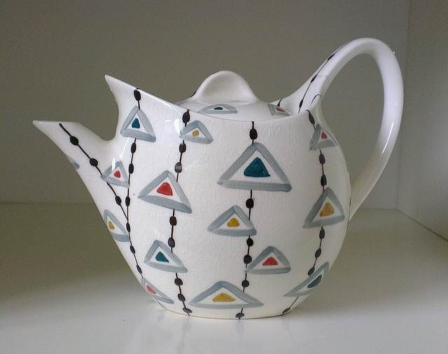 Midwinter 'Triangles' Tea Pot by Toadstools_, via Flickr