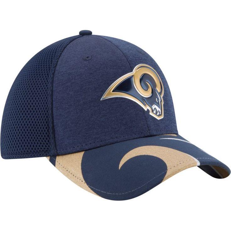 New Era Men's Los Angeles 2017 Draft 39Thirty Adjustable Navy Hat, Size: Medium/Large, Team