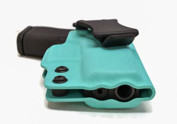 Glock 42 380 Custom Iwb Kydex Holster Full by Lawsconcealment