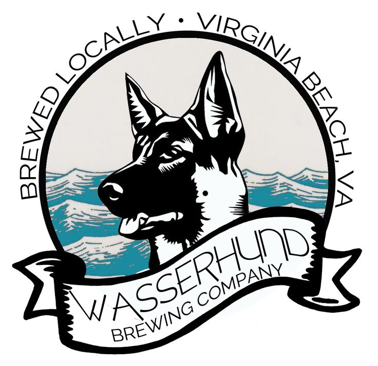 Wasserhund Brewing Company, Virginia Beach brewery. Serving high quality ales, lagers, and meads in a German style brewery with a Beach kick