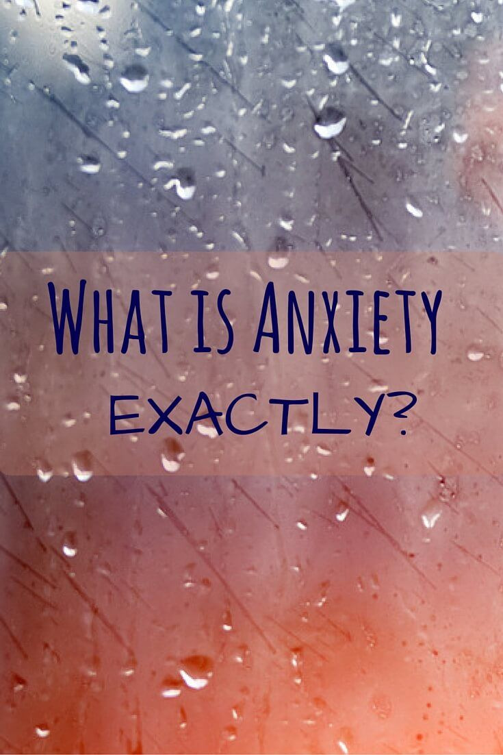 Wow, I actually had no idea that this is what they actually mean with 'Anxiety'... Great read if you think you might have a problem with anxiety!