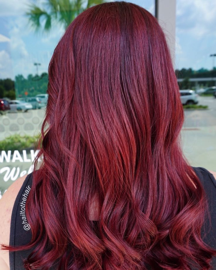 Cherry cola Red hair • • • #balayagehair #balayage #balayageombre #balayagespecialist #shadowroot #colormelt #modernsalon #americansalon #behindthechair #btcpics #hef #stylistshopconnect #stylistsupportingstylists #authentichairarmy #fckinghair #myrtlebeachhair #myrtlebeachstylist #myrtlebeach #scstylist #southcarolinastylist #hairartistry #citiesbesthairartists #licensedtocreate