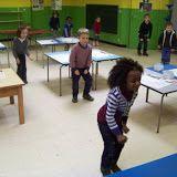 Schrijfdans: Schrijfdans juf Silke thema Raket