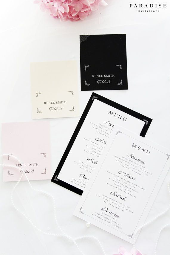 114 best images about place cards on pinterest