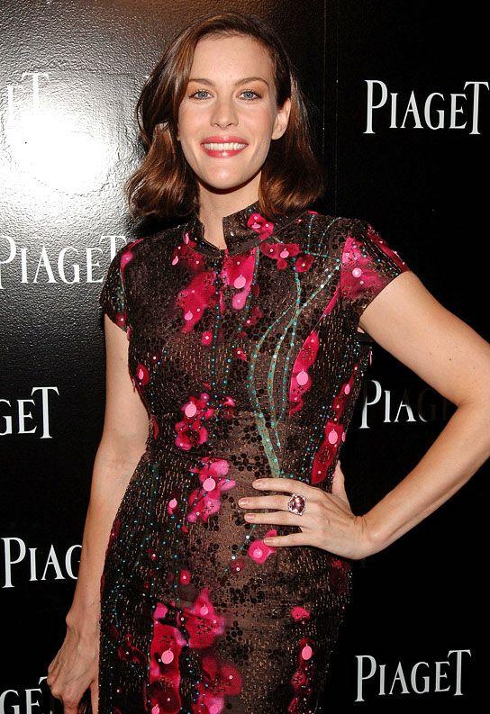 Liv Tyler & David Gardner Engaged: See Her Giant SparklingRing