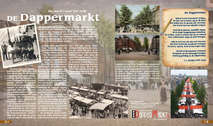 Amsterdam, De Dappermarkt
