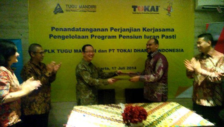 Kerjasama DPLK TM dengan Tokai