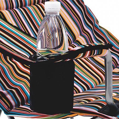 Campingmöbel Campinas    Der Outwell Campinas Summer überzeugt mit einem kleinen Packmaß und einer verstellbaren Rückenlehne. Ein sehr stabiler Stahlrahmen macht den Stuhgl sehr robust, in der Armlehne ist ein Flaschenhalter angebracht.    Abmessungen: 60 x 75 x 100 cm  Farbe: summer  Gewicht: 4,4 kg  Material Bezug: Polyester  Material Rahmen: Stahl  Material- Zusammensetzung: Gesamt: 100% Pol...
