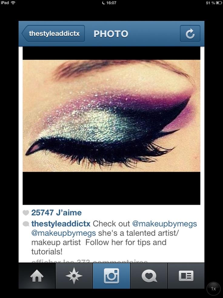makeup artist cover letters%0A Smokey eye silver purple