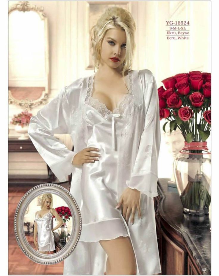 240 Best Satin Robe Images On Pinterest Satin Gown