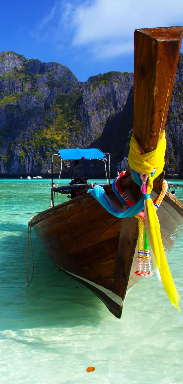 Ma Ya Bay - The Beach, Thailand       10 Idyllic Surreal Places that Make Thailand One of the Most Beautiful Countries in The World