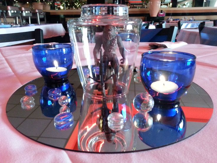Star Wars Centerpiece (Chewbacca) Credit: C-MY Style Event ...
