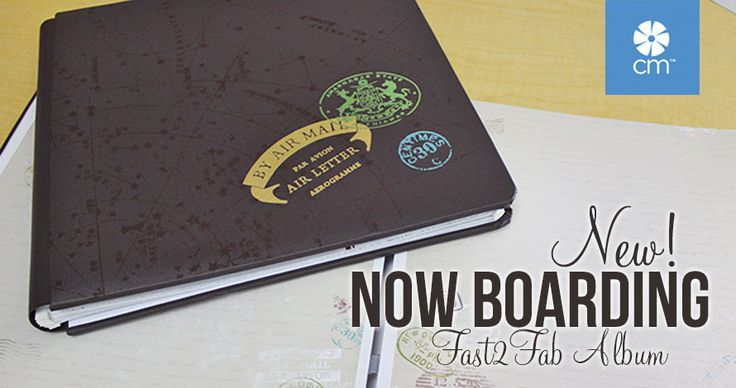 TRAVEL ALBUM by Creative Memories. This is a Fast2Fab album with pre-printed pages. Allows you to complete your album, with 150+ photos, in an afternoon! -dt