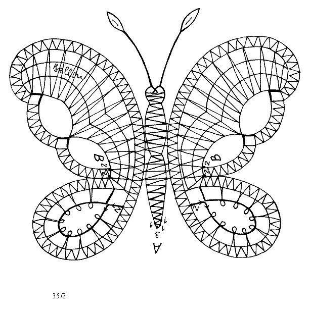 Mariposa - Patron Gde