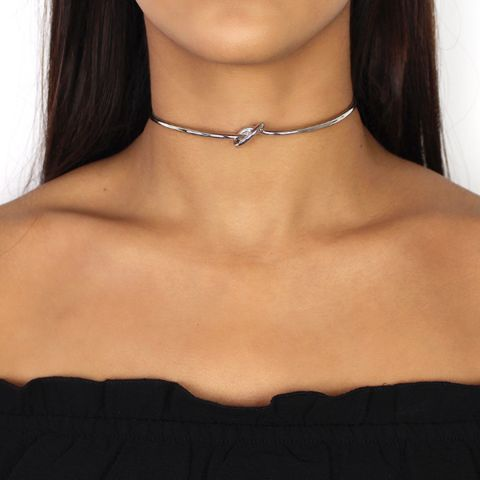 Nikita By Niki silver knot choker necklace simple minimal look for day to night arrives gift wrapped