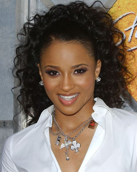 ciara ponytail black goodness