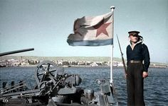 Soviet Navy WW2, color photo, pin by Paolo Marzioli