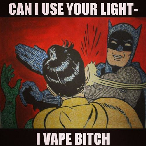 Some vape humor ;-)  No more cigs for me! Gonna keep calm and vape on!