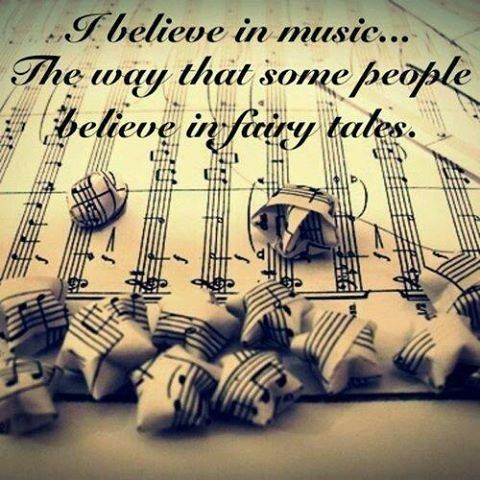 I believe in music essay