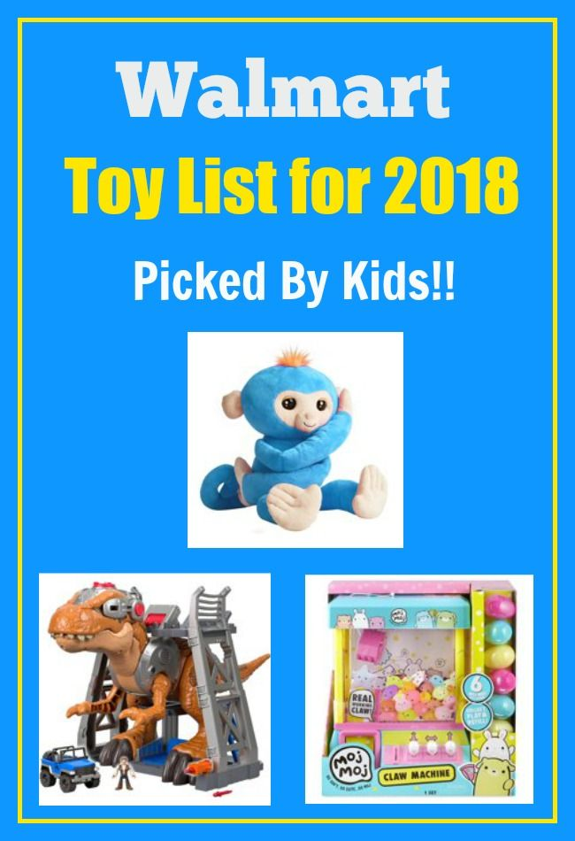 Walmart Top 40 Toys For Christmas 2018 Kid Approved