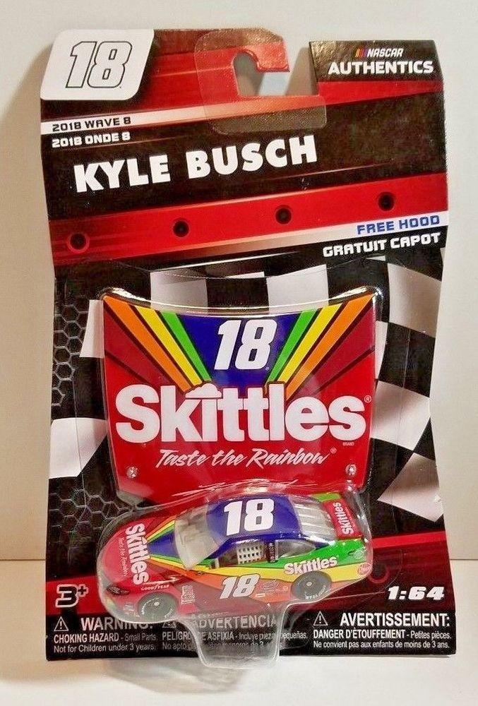 2020 Wave 2 Kyle Busch Interstate Batteries 1//64 NASCAR Authentics Diecast