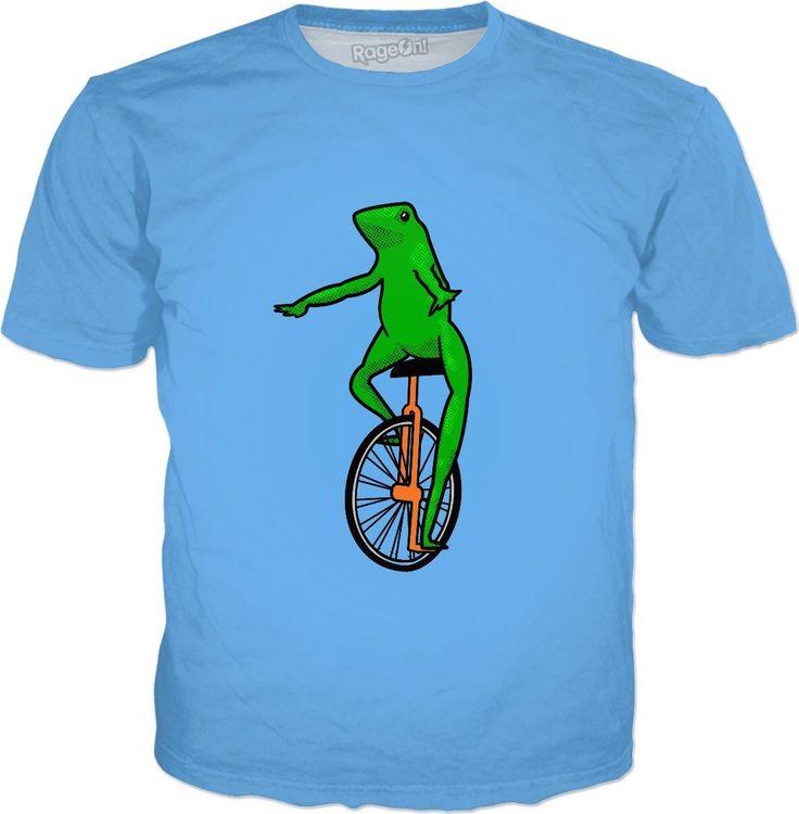 ROTS Dat Boi Unicycle Frog T-Shirt