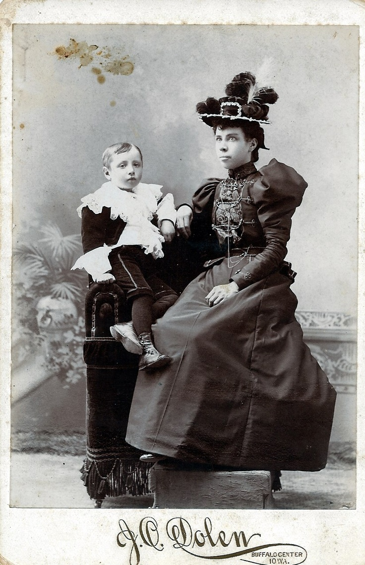 Lottie Jordal Tegland and son, Norman