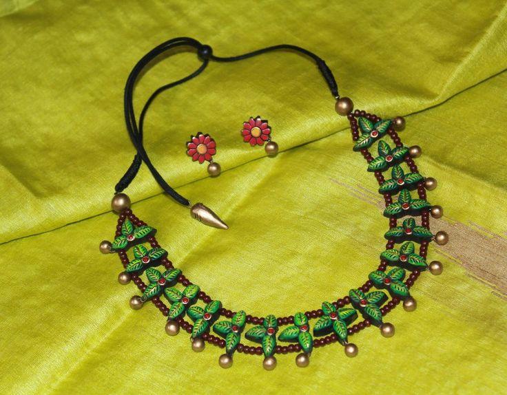 Terracotta Jewellary set
