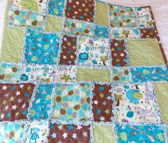 354 best Inspiration: Sewing Rag Quilts images on Pinterest | Wool ... : rag quilts for baby - Adamdwight.com