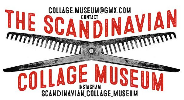 logo for The Scandinavian Collage Museum #norway #collage