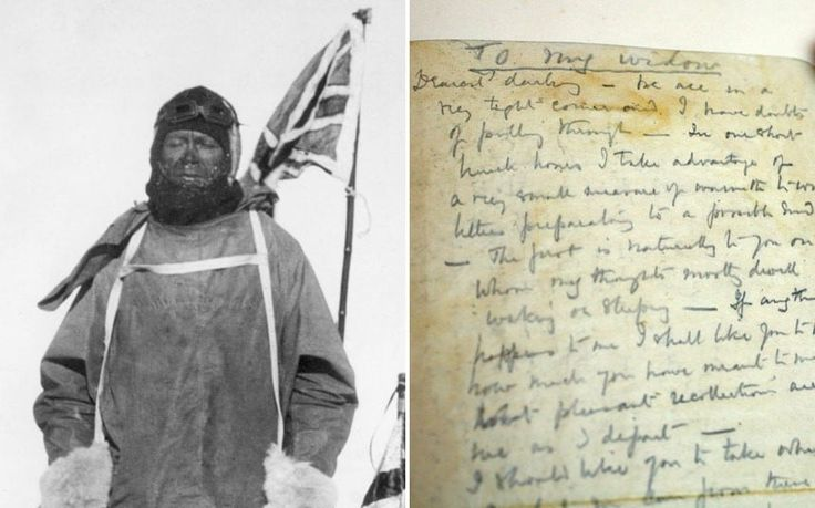 Captain Scott's last letter has gone on public display today for the first time, 101 years after the polar explorer's death.