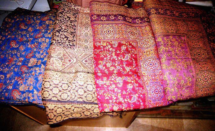AFGHAN CASHMERE BLANKET bed spread wool patu long kashmir indian asian sofa blanket sheet throw 9x7