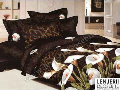 Lenjerie de pat maro cu cale A-8089 Cumparati aceasta lenjerie de pat intrand aici http://www.lenjeriidepatdeosebite.ro