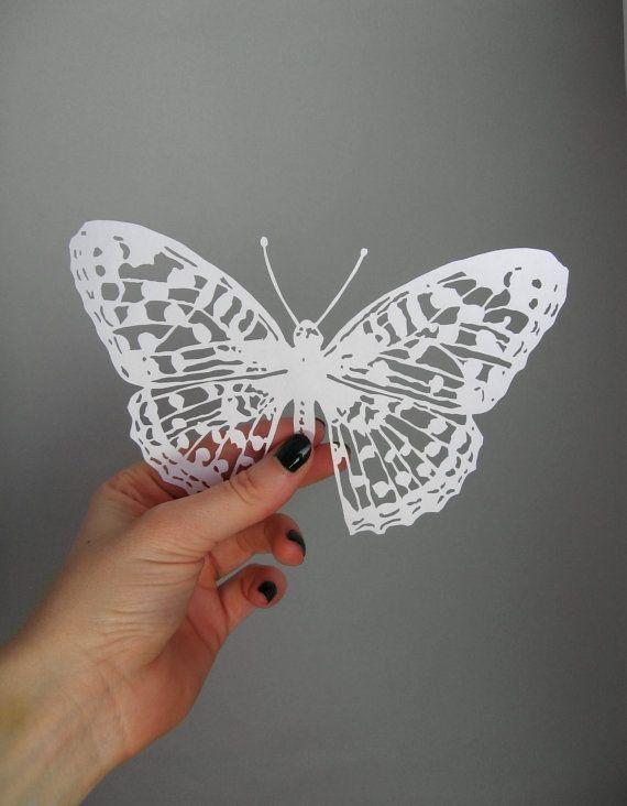 69 best scherenschnitte images on pinterest papercutting for White paper butterflies