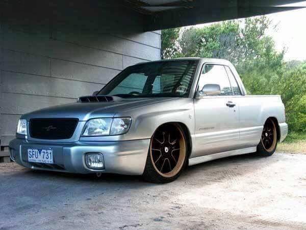 Subaru Forester custom pickup... Baja variant vehicle