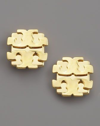 Logo Earrings Large By Tory Burch At Neiman Marcus Style Is Everything In 2018 Jewelry