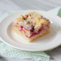 Strawberry-Rhubarb Pie Bars.  Gotta try this.