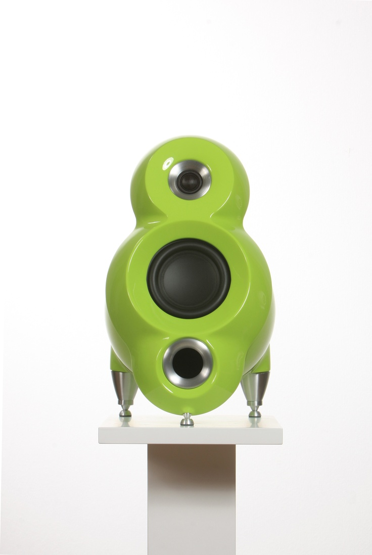 Luna in Mint Green color. Luna is a High End Lifestyle loudspeaker at very affordable price. Aluminum enclosure, composite baffle and CNC machined solid aluminum horns and feet. Optional 16 000 colours to fit your needs and taste!!! A great value in a small package. facebook.com/EverythingButTheBox