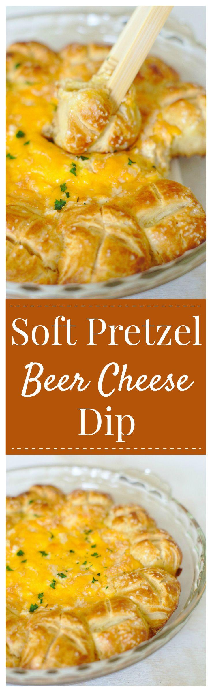 Soft Pretzel Beer Cheese Dip