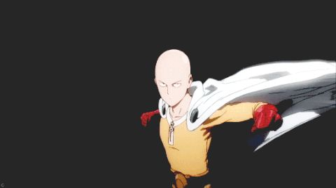 One Punch Man My screen just cracked and slammed on my face so hard that my nose broke and had to get a face transplant.