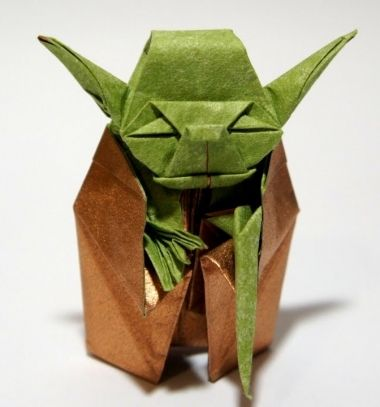 Origami Jedi Master Yoda - Star Wars // Origami Jedi mester Yoda ( Star Wars - Csillagok háborúja ) // Mindy - craft tutorial collection