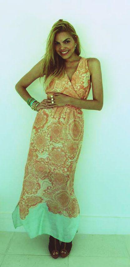 Vestido indiano Verão 2014