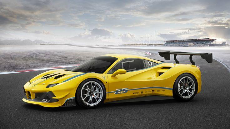 2017 Ferrari 488 Challenge http://www.wsupercars.com/ferrari-2017-488-challenge.php