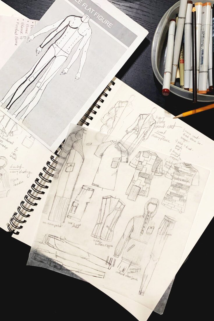 Difference Between A Fashion Illustrator And Fashion Designer Delaya B In 2020 Fashion Design Fashion Illustrator Design