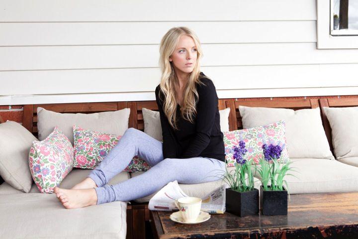 Long Sleeve Bed Tee and Leggings http://pelicansleepwear.com.au/products/long-sleeve-bed-tee